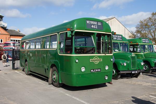 1953 AEC Regal IV RF bus