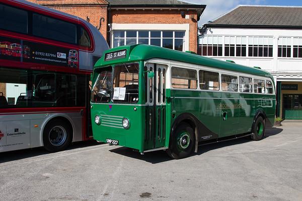 1949 AEC Regal IV prototype bus