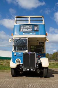 1950 - AEC Regent Open-top Double-decker - RT2494 (Guernseybus)
