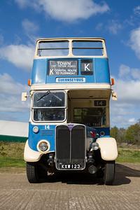 1950 - AEC Regent Open-top Double-decker - RT2494 (Guernseybus)