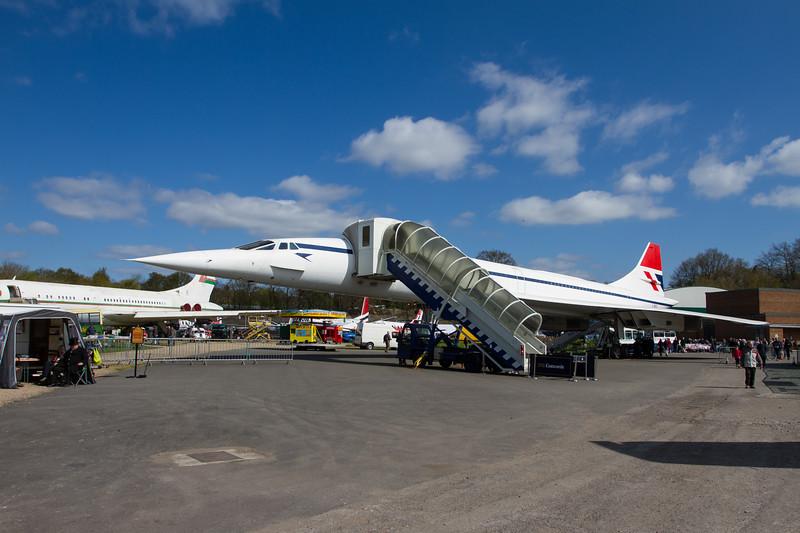 "1974 BAC Concorde ""British Airways"""