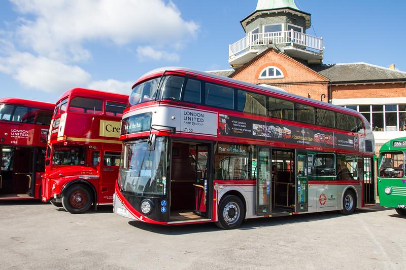 2012 Wrightbus LT2 New Routemaster Double-decker bus