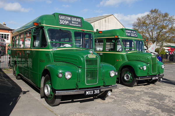 1953 Guy Special bus