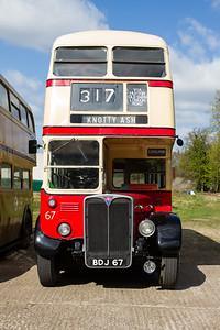 1950 - AEC Regent III RT Double-Decker Bus - D67 (St Helens Corporation)