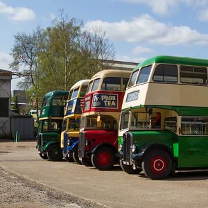 AEC Regent III Double-Decker Buses