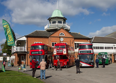 2012 Wrightbus LT2 New Routemaster Double-decker Bus / 1960 AEC Routemaster Double-decker Bus - RM54