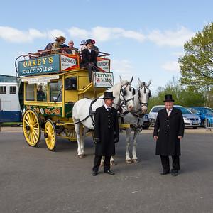 "1890 - Three Light ""Garden-Seat"" Horse-Bus"