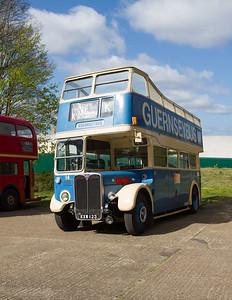 1950 - AEC Regent Open-top Double-decker Bus - RT2494 (Guernseybus)