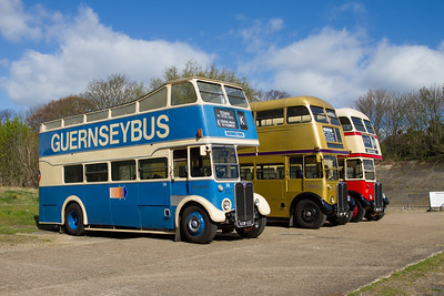 "1950 - AEC Regent open-top Double-decker ""RT2494"" (Guernseybus)"