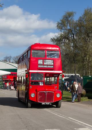 1968 AEC Routemaster Double-decker bus