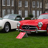 1959 Mercedes 300SL Gullwing & 1952 Jaguar XK120 FHC
