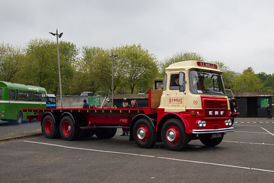 1972 - ERF Flatbed Lorry