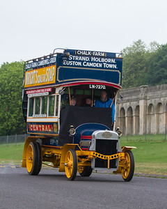 1908 - Leyland X2 35hp Double Deck Bus