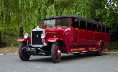 1929 - Leyland Lioness Single Deck Bus