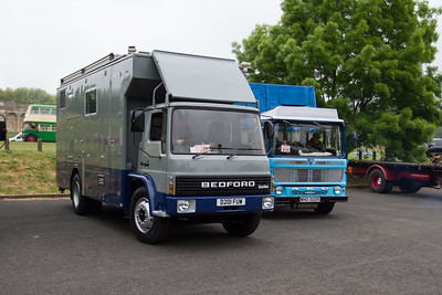 """1987 - Bedford TL """"BBC Outside Broadcasting Lorry"""""""