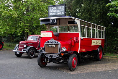 1925 - Tilling Stevens TS7 Single Deck Bus
