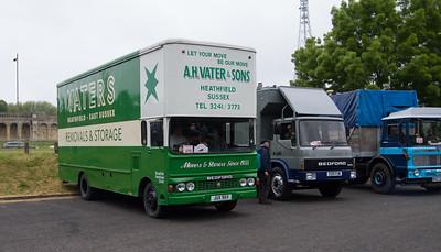 1980 - Bedford TK Removal Van