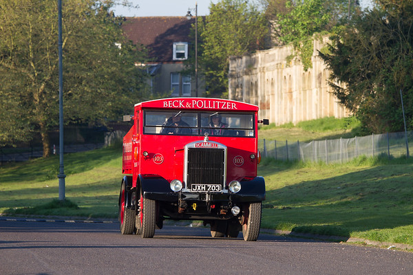 1948 Scammell Ballast Tractor