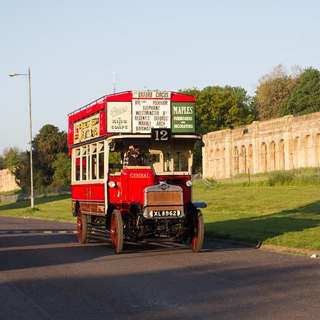 1922 AEC S Type Bus
