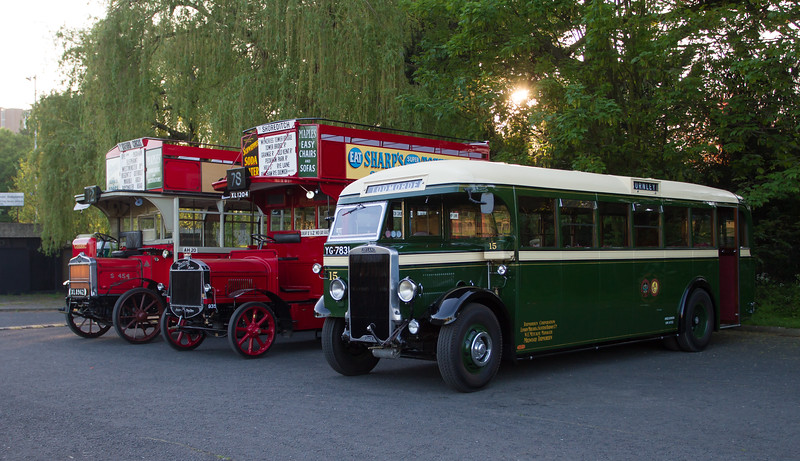 1934 - Leyland Tiger TS6 Single Deck Bus