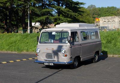 1962 - Morris J4 Campervan