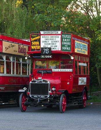 1922 - Tilling Stevens TS3A Double Deck Bus
