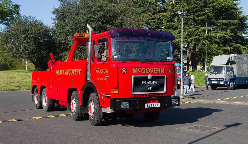 1987 - MAN Recovery Vehicle