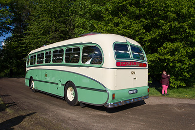 1959 - GUY Arab Coach with Burlingham Seagull Body
