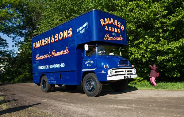 1960 - Ford Thames Trader Box Van