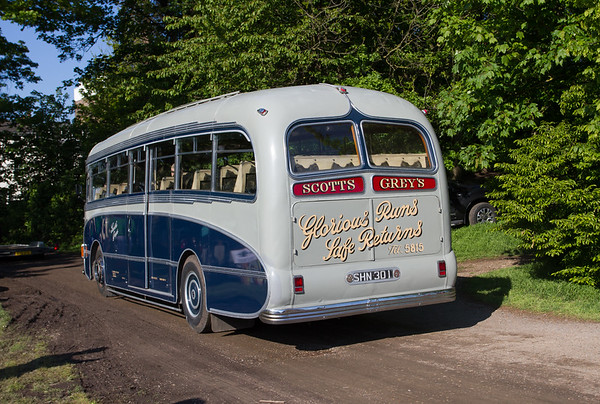 1952 - AEC Regal IV RF 19 Single-Deck Bus