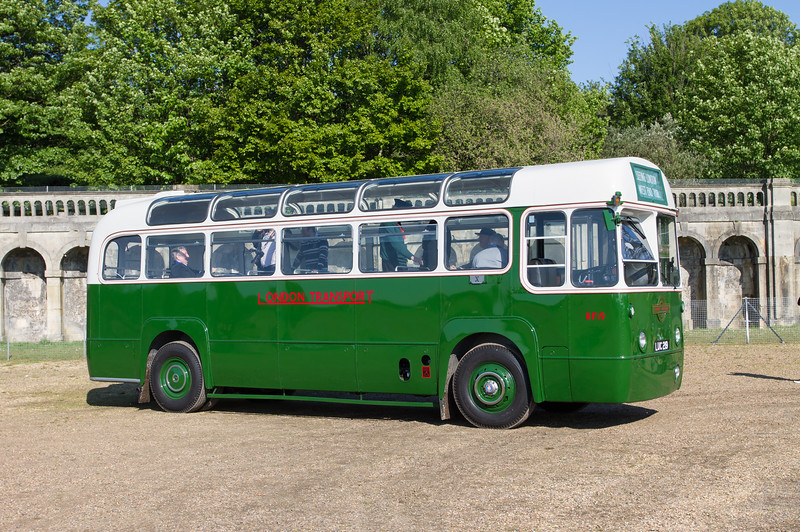 1950 - AEC Regal RF 19 Single-Deck Bus
