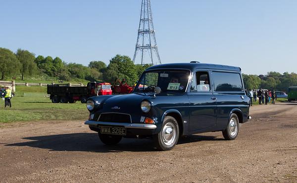 1967 - Ford Anglia 307E Van