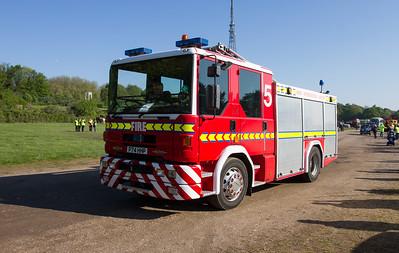 1996 - Dennis Sabre Fire Engine