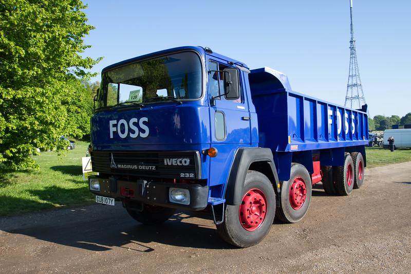 1982 - Magirus Deutz 232 U30 Tipper Lorry