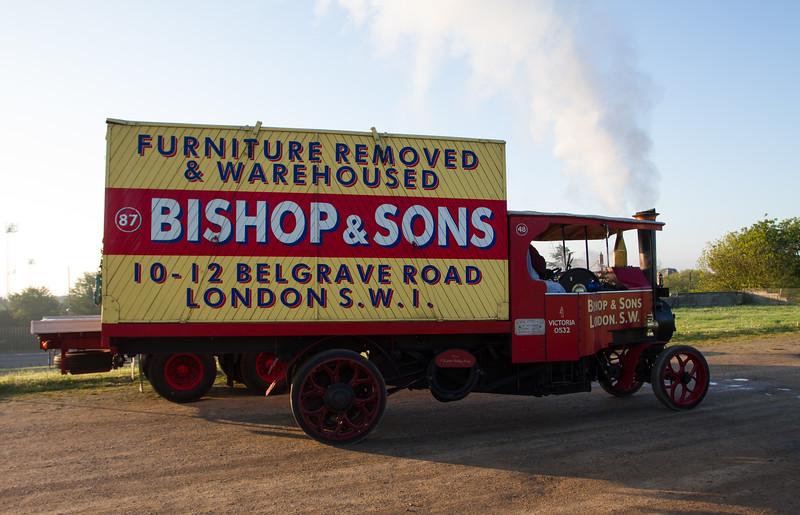1929 - Forden 5/6 Ton HH Steam Wagon