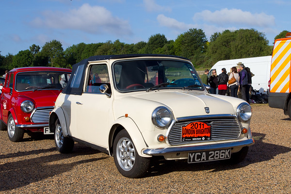 1970 Mini Mk II Convertible