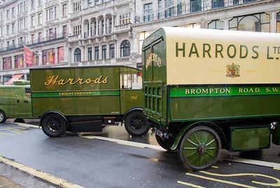 Harrods Walker Electric Vans