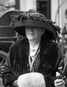 Lady in Edwardian Costume