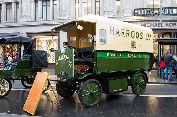 1919 Harrods Walker Electric Van