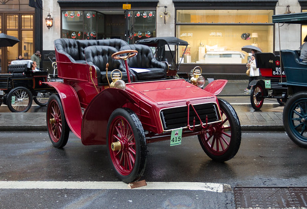 1903 - Packard 12hp Two-seater Body