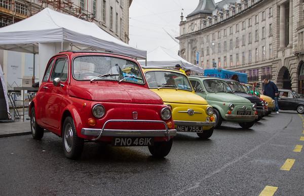 Fiat 500 60th Anniversary Display
