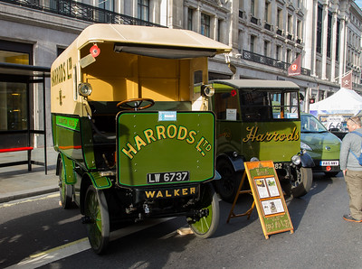 1919 - Harrods Walker Electric Van