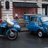 1961 Norton ES2 Motorcycle Combination and 1959 BMW 3-Wheel Isetta