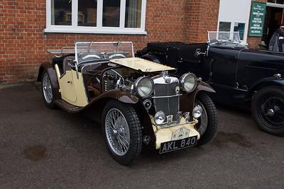 1933 MG L2 Midget