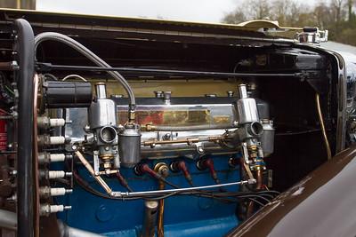 1933 MG L2 Midget Engine