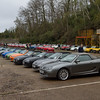 Line-up of MG MGF and Cat
