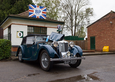 1950 - MG VA Tourer