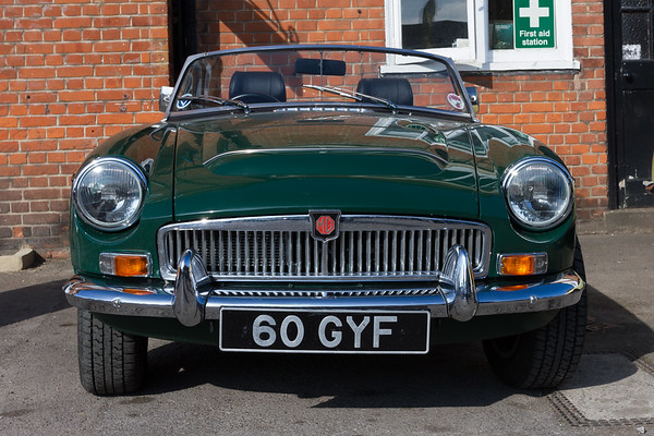 1968 MG MGC Roadster