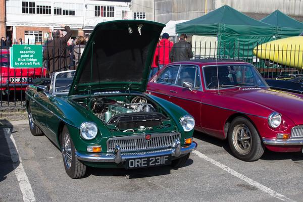 1968 MG MGB NA Roadster