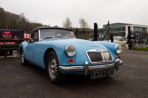 1961 MGA Roadster Deluxe